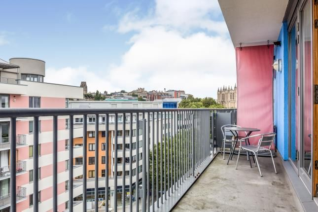 Balcony of Waverley House, Cathedral Walk, Bristol, City Of Bristol BS1