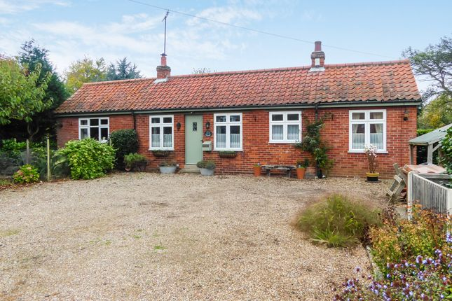 Thumbnail Detached bungalow for sale in Walgar, The Street, Haddiscoe, Norwich