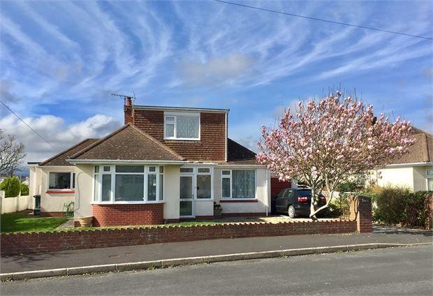 Thumbnail Detached bungalow for sale in Princess Road, Kingsteignton, Newton Abbot, Devon.