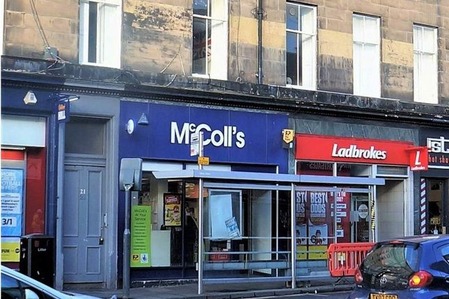 Thumbnail Retail premises for sale in Edinburgh, Scotland