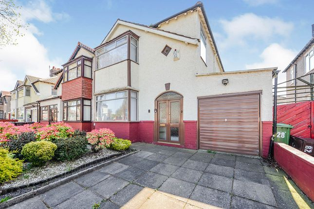 Thumbnail Semi-detached house for sale in Moss Lane, Litherland, Liverpool, Merseyside