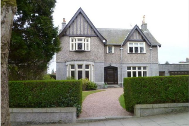 Thumbnail Detached house to rent in Rubislaw Den South, Aberdeen