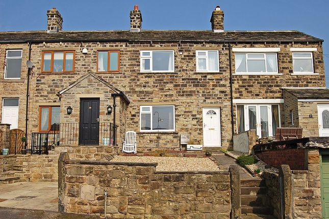 Thumbnail Terraced house for sale in Littlethorpe Hill, Hartshead, Liversedge, West Yorkshire