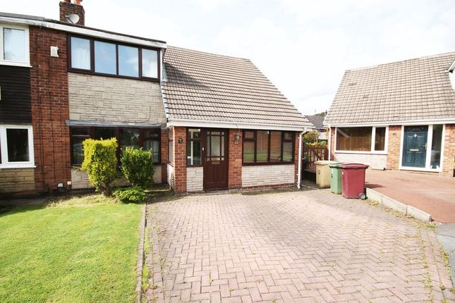 Thumbnail Semi-detached house to rent in Lower Mead, Edgerton, Bolton, Lancashire.