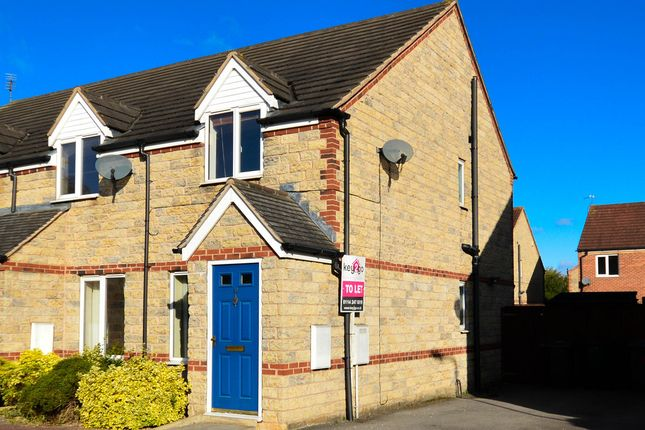Thumbnail End terrace house to rent in St. Pancras Close, Dinnington, Sheffield