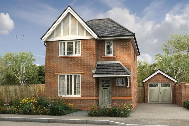"Thumbnail Detached house for sale in ""The Heywood"" at Wharford Lane, Runcorn"
