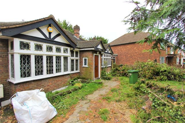 Thumbnail Bungalow for sale in The Drive, Wembley