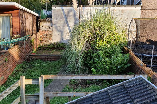 Garden of Kilvey Terrace, St Thomas, Swansea SA1