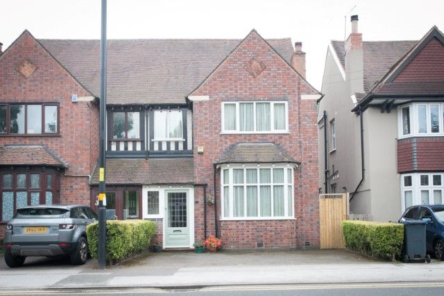 Thumbnail Semi-detached house for sale in Upper Holland Road, Sutton Coldfield