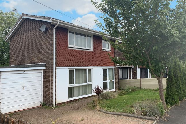 Thumbnail Property to rent in Roberts Close, Rogerstone, Newport