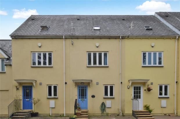 Thumbnail Terraced house for sale in Halfmoon Court, Plymouth Road, Buckfastleigh, Devon