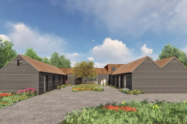 Thumbnail Barn conversion for sale in Oakhall Court, Oakley, Aylesbury