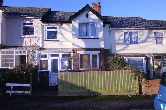 Thumbnail Terraced house to rent in Baldwin Terrace, Folkestone