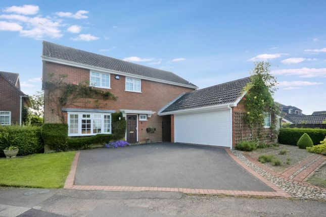 Thumbnail Detached house for sale in Chapel Close, Houghton-On-The-Hill, Leicester