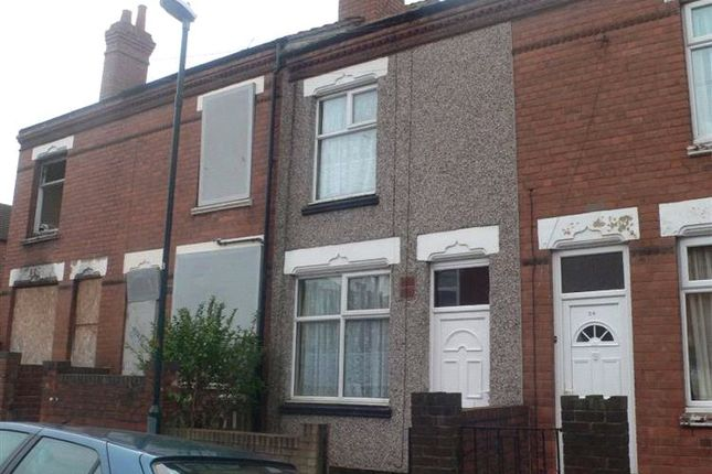 Thumbnail Terraced house for sale in Augustus Road, Stoke, Coventry, West Midlands
