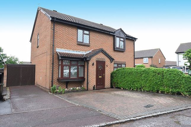 Thumbnail Semi-detached house to rent in Rhodewood Close, Downswood, Maidstone