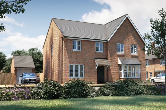 "Thumbnail Semi-detached house for sale in ""The Studland"" at Bishopsfield Road, Fareham"
