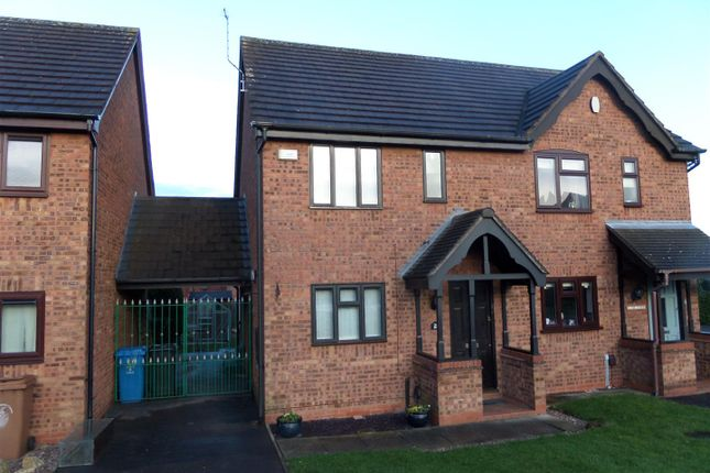 Thumbnail Semi-detached house to rent in Peak Close, Armitage, Rugeley
