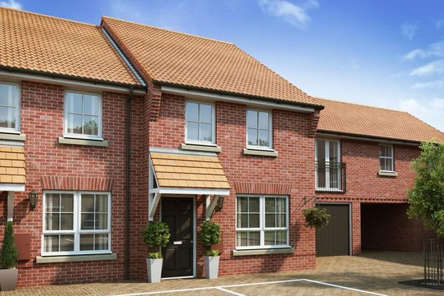 "Thumbnail Terraced house for sale in ""Woodbridge"" at Sir Williams Lane, Aylsham, Norwich"