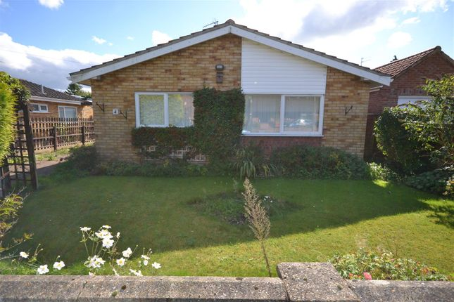 Thumbnail Detached bungalow for sale in Back Lane, Pott Row, King's Lynn