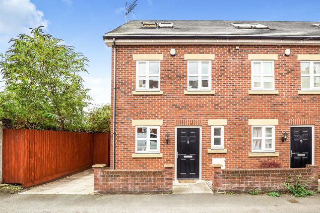Thumbnail End terrace house for sale in Springfield Mews, Hoole, Chester