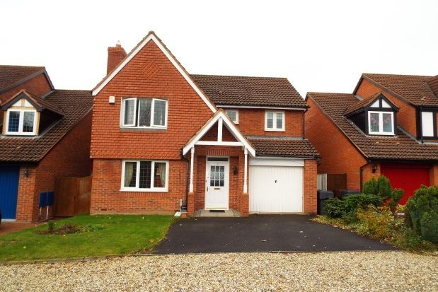 Thumbnail Detached house to rent in Mountserrat Road, Bromsgrove