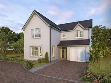Thumbnail Detached house for sale in Plot 23, Ostlers Way, Kirkcaldy, Fife
