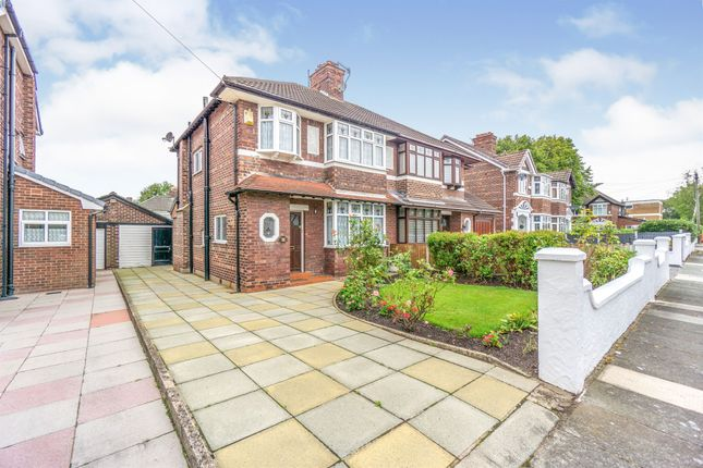 Thumbnail Semi-detached house for sale in Northwood Road, Prenton