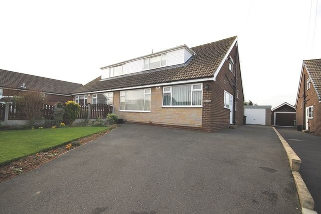Thumbnail Semi-detached house for sale in Oak Royd, Rothwell, Leeds