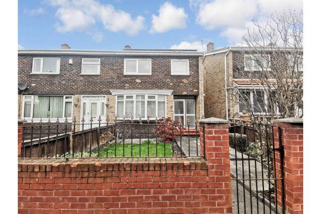 3 bed end terrace house for sale in Kemble Square, Sunderland SR5