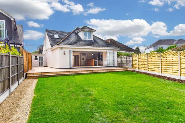 Thumbnail Detached house for sale in Lantivet Oak Hill Road, Stapleford Abbotts, Romford