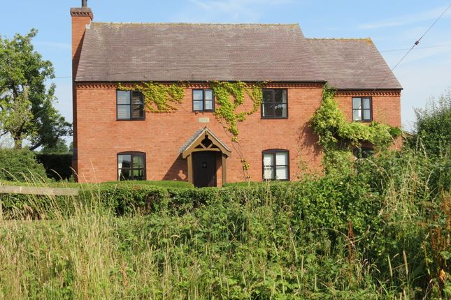 Detached house for sale in Rose Tree Cottage Morrey Lane, Yoxall, Staffordshire