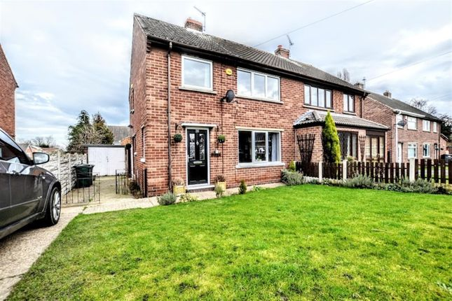 Thumbnail Semi-detached house for sale in Overdale Road, Wombwell, Barnsley