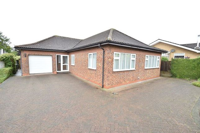 Thumbnail Detached bungalow for sale in Maple Close, Louth