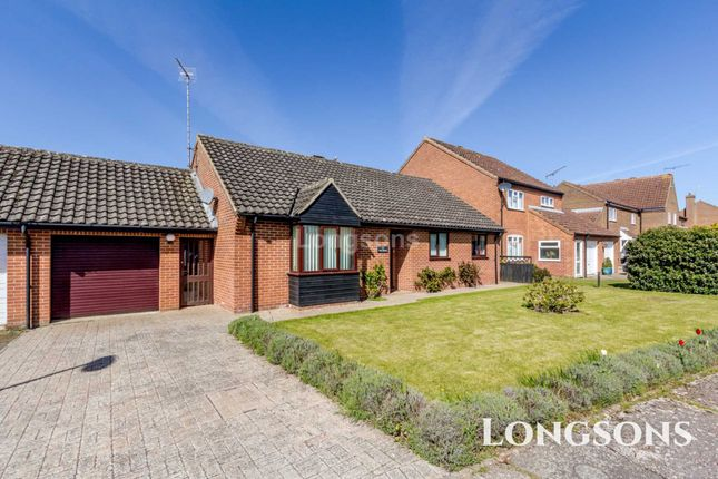 Thumbnail Detached bungalow for sale in Brancaster Way, Swaffham