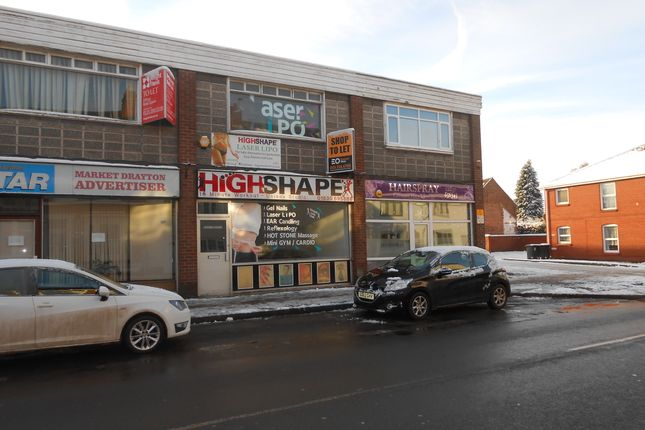 Thumbnail Retail premises to let in Shropshire Street, Market Drayton, Shropshire