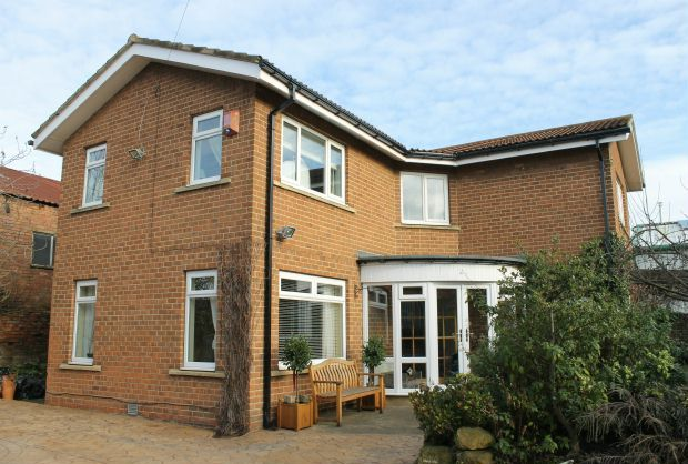 Thumbnail Detached house for sale in Hollygarth, Westgate, Guisborough