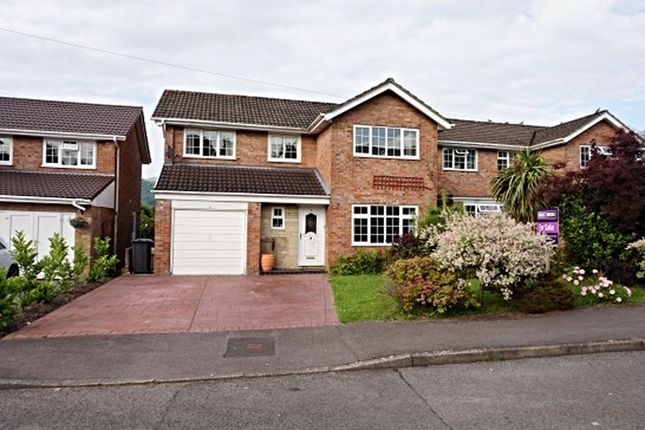 Thumbnail Detached house for sale in Malford Grove, Abergavenny