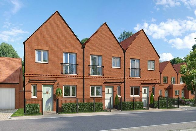 """Thumbnail Terraced house for sale in """"The Godard"""" at Andover Road North, Winchester"""