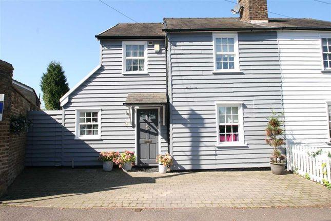 Thumbnail Semi-detached house for sale in The Rutts, Bushey Heath, Bushey
