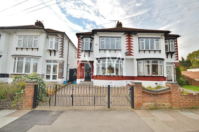 Thumbnail Semi-detached house for sale in Colvin Gardens, Ilford