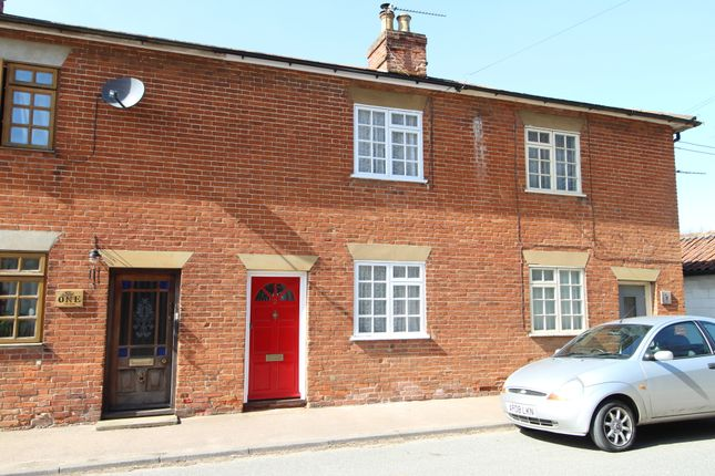 Thumbnail Terraced house for sale in High Street, Hopton, Diss