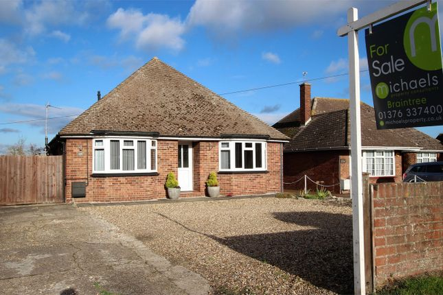 Thumbnail Detached bungalow for sale in Coggeshall Road, Braintree, Essex