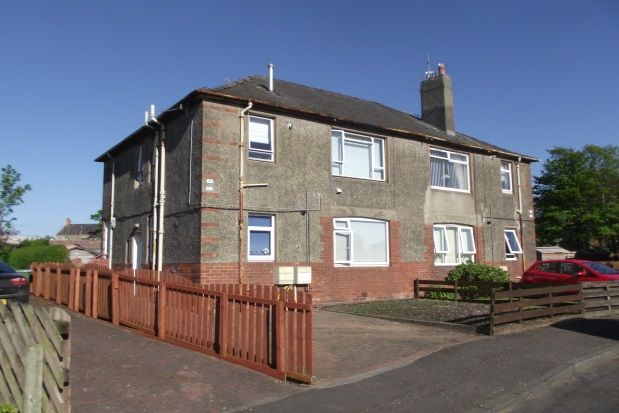 Thumbnail Flat to rent in Glebe Crescent, Ayr