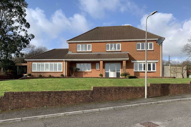 Thumbnail Detached house for sale in Clos Y Ddraenen, Swiss Valley, Llanelli