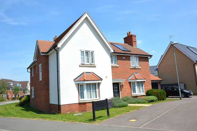Thumbnail Detached house for sale in Hampton Road, Little Canfield, Dunmow