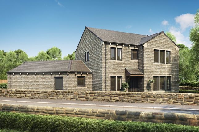 Thumbnail Detached house for sale in Upperthong Lane, Holmfirth