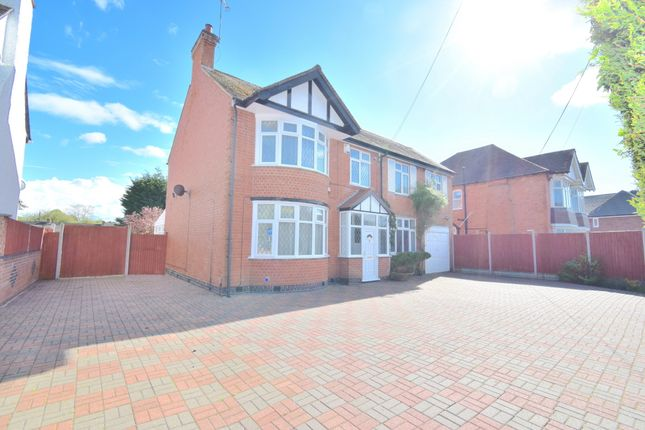 Thumbnail Detached house for sale in Scraptoft Lane, Humberstone, Leicester