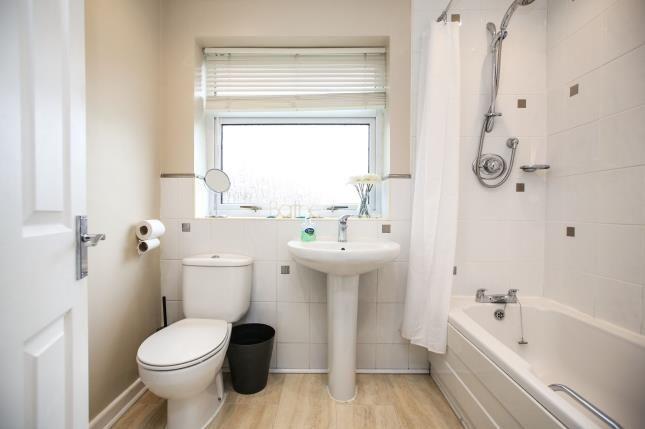 Bathroom of Derwent Drive, Handforth, Cheshire, . SK9