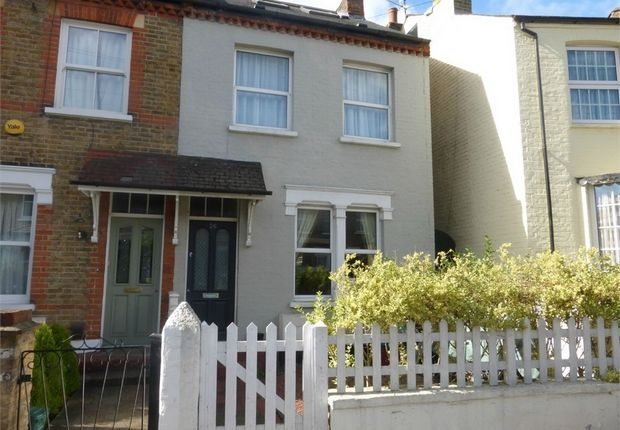 Thumbnail End terrace house for sale in Newton Road, Isleworth, Middlesex